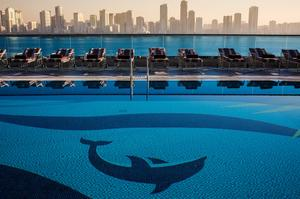 Top bars clubs cafes in sharjah for Public swimming pools in ajman